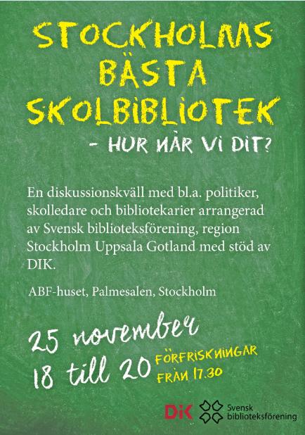 Stockholms bästa skolbibliotek