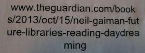 Källförteckning Gaiman